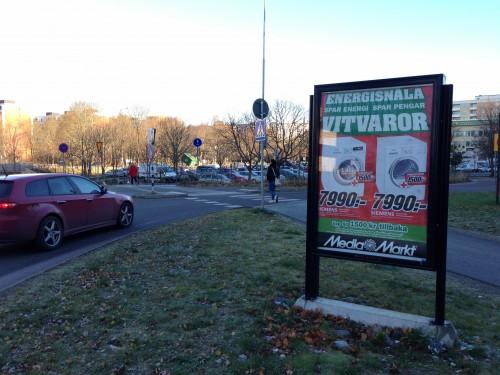 Utomhusreklam Järfälla / Jakobsbergs Centrum - GUSO Närmedia AB www.guso.se
