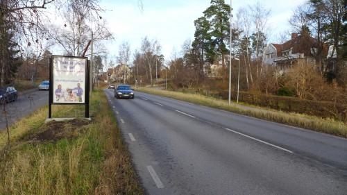 Djurhälsobutiken utomhusreklam Lejonvägen Lidingö