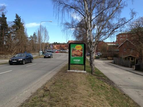 GUSO Närmedia Annonsör: Coop Skeppet Lidingö Placering: Lejonvägen Lidingö Centrum