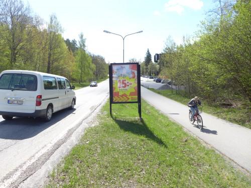 ICA Maxi Värmdö - GUSO reklamskylt mot Norra Lagnö