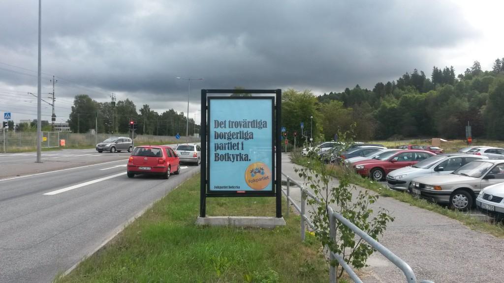 Folkpartiet Botkyrka - Guso reklamtavlor 5
