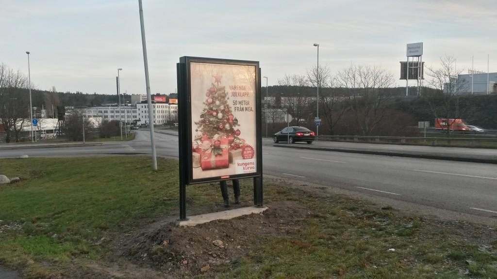 Kungens Kurva Shoppingcentrum Huddinge kampanj
