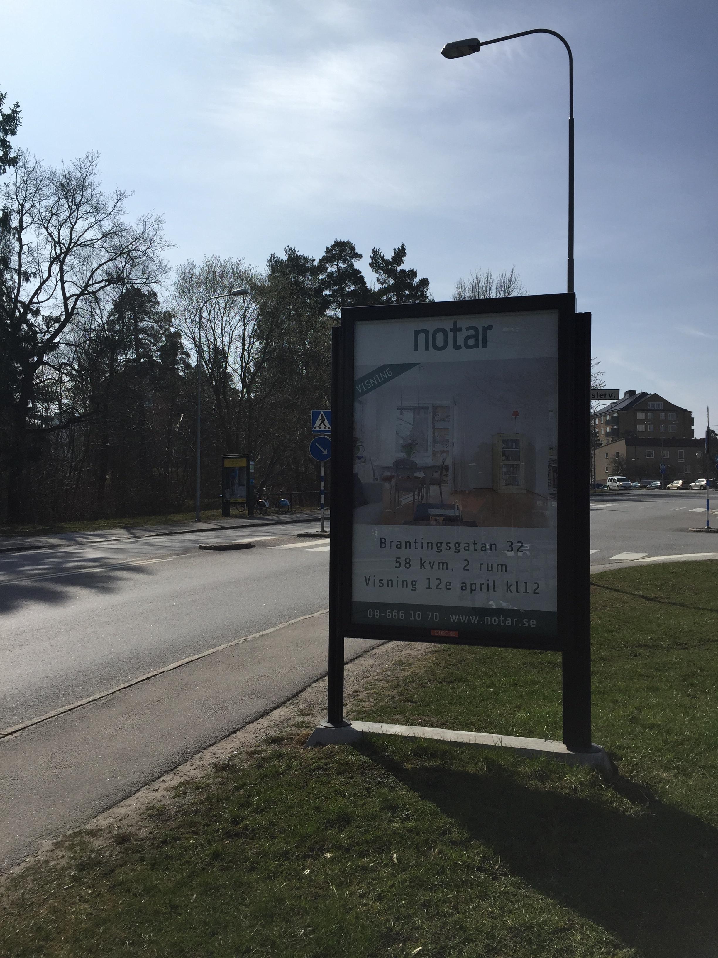 GUSO eurosize Lidingö - Notar visningsannons